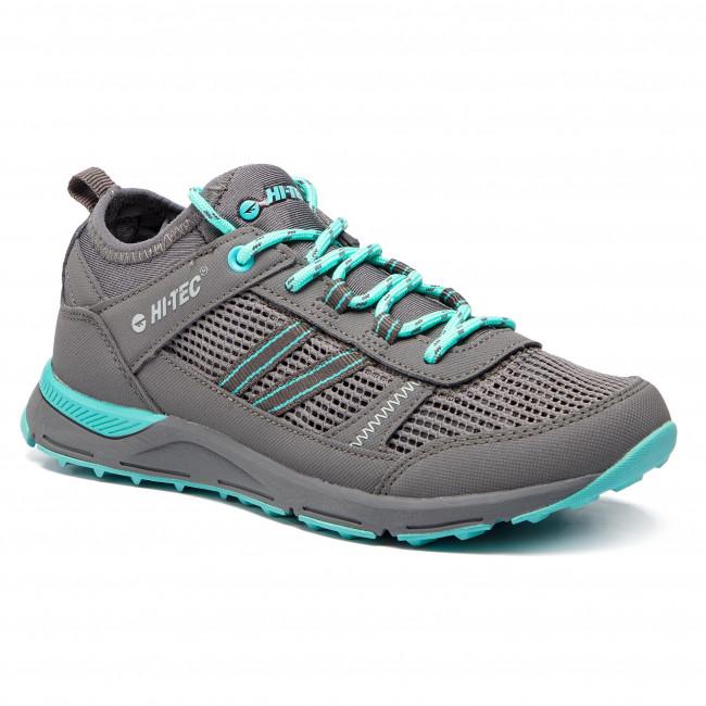 Trekingová obuv HI-TEC - Ogleno Wo's AVS-SS19-HT-01-Q2 Mid Grey/Turquoise