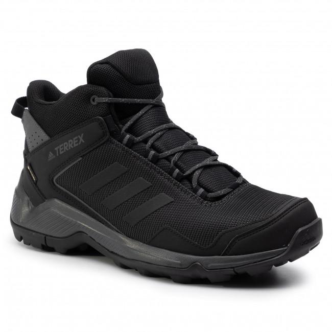 Topánky adidas - Terrex Eastrail Mid Gtx GORE-TEX  F36760  Carbon/Cblack/Grefiv