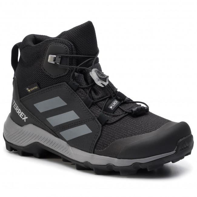 Topánky adidas - Terrex Mid Gtx K GORE-TEX EF0225 Cblack/Grethr/Cblack