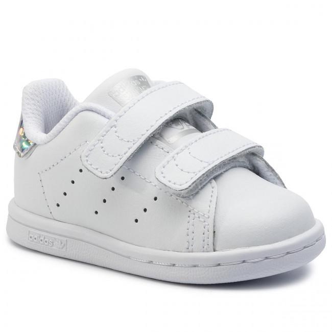 Topánky adidas - Stan Smith CF I EE8485 Ftwwht/Ftwwht/Cblack