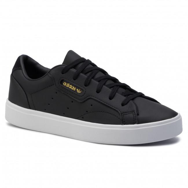 Topánky adidas - Sleek W CG6193  Cblack/Cblack/Crywht