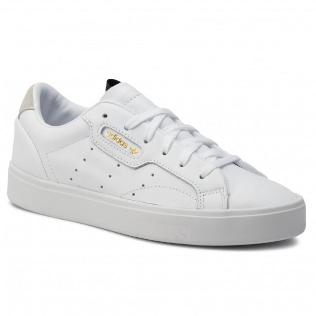 Topánky adidas - Sleek W DB3258 Ftwwht/Ftwwht/Crywht