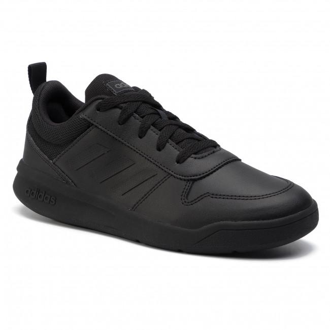 Topánky adidas - Tensaur K EF1086 Cblack/Cblack/Gresix