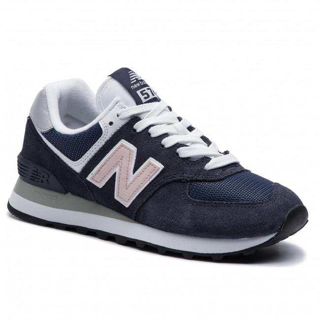 4b770ddad6392 Sneakersy NEW BALANCE - WL574BTC Tmavo modrá - Sneakersy ...