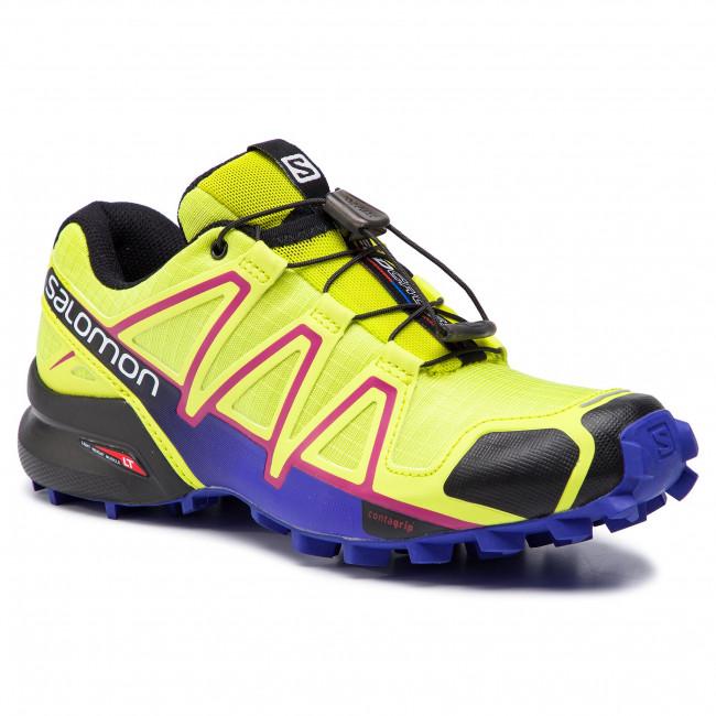 ebfdeae88ccd5 Topánky SALOMON - Speedcross 4 W 391859 21 V0 Gecko Green/Spectrum  Blue/Black - Trekingová obuv - Bežecká obuv - Športové - Dámske - eobuv.sk