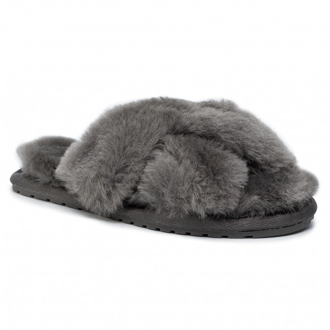 Papuče EMU AUSTRALIA - Mayberry Teens T12176 Charcoal