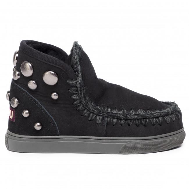 Topánky MOU Eskimo Sneaker Back Round Studs Black