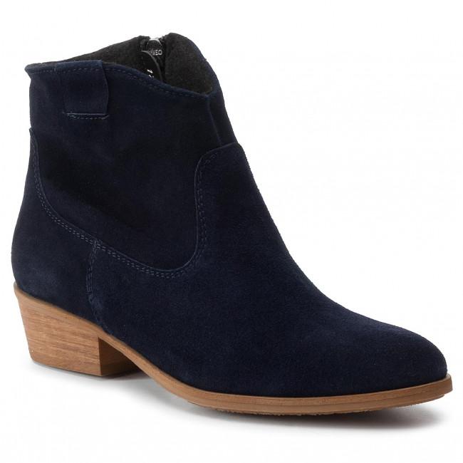 Členková obuv BALDACCINI - 122600 Granat Welur