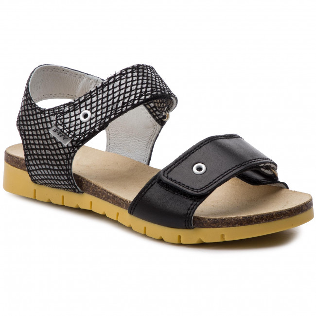Sandále BARTEK - 59183/1RP Czarno/Biały
