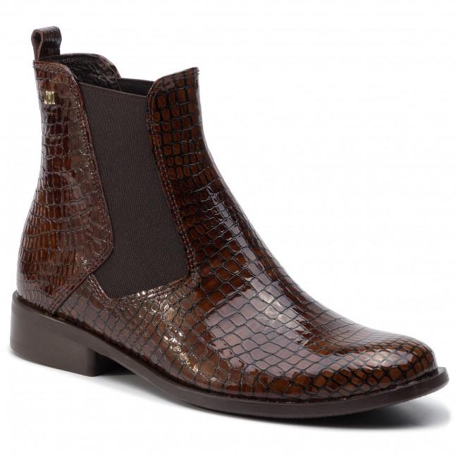 Kotníková obuv s elastickým prvkom MACCIONI - 592.271.132 Hnedá