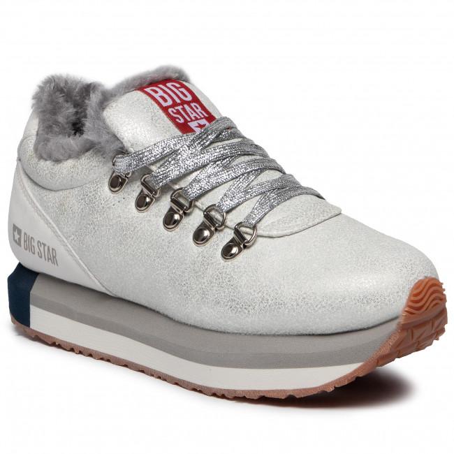 Sneakersy BIG STAR - EE274731 Silver