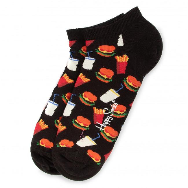 Ponožky Kotníkové Unisex HAPPY SOCKS - HAM05-9300 Čierna Farebná