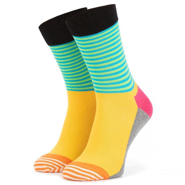 Ponožky Vysoké Unisex HAPPY SOCKS - HAS01-9700 Farebná