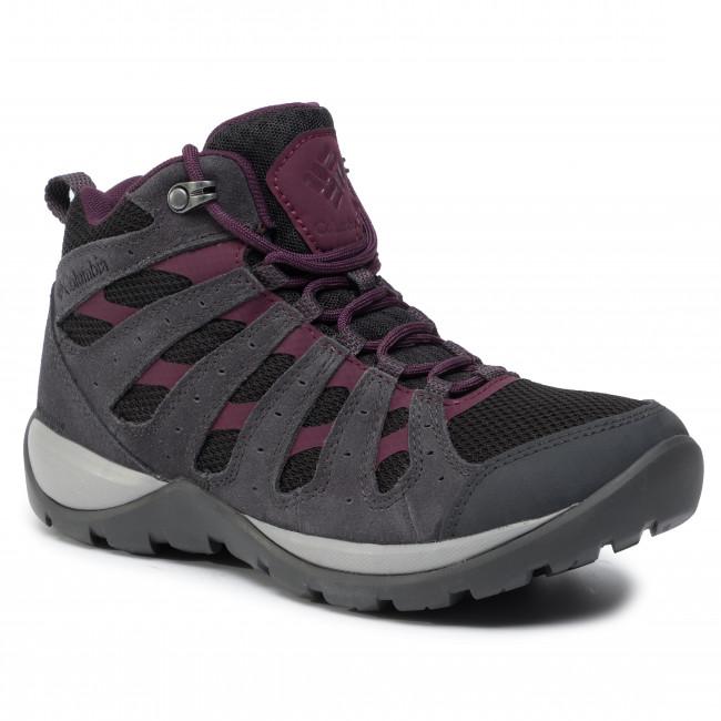 Trekingová obuv COLUMBIA - Redmond V2 Ltr Mid Wp BL0833 Black/Black Cherry 010