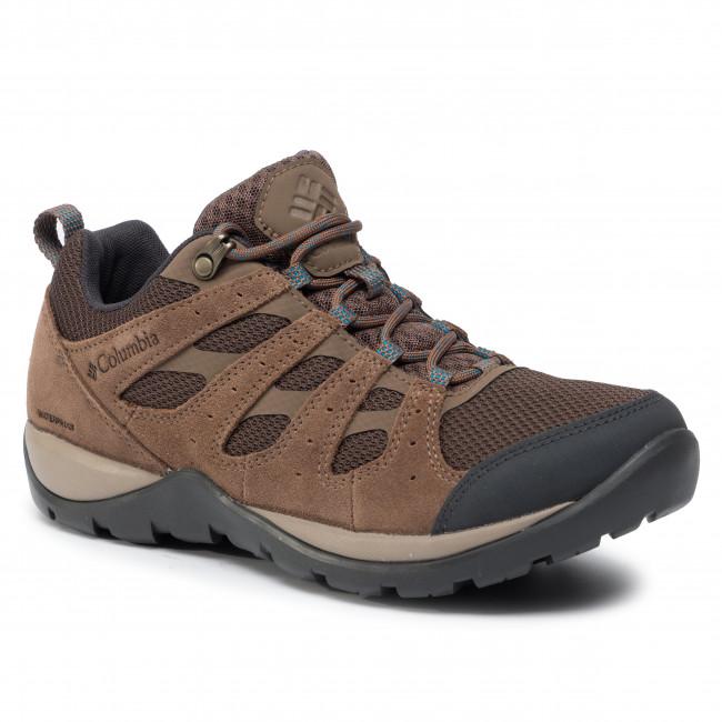Trekingová obuv COLUMBIA - Redmond V2 Wp BL0834 Espresso Mhw/Deep Ocean 200