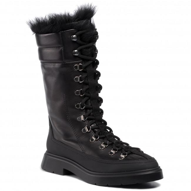 Členková obuv STUART WEITZMAN - Jessie 1L23149 Black Sptclf/Lgshear