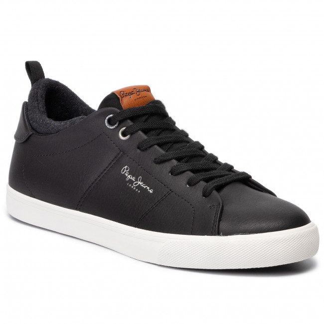 Sneakersy PEPE JEANS - Marton Basic PMS30501 Black 999