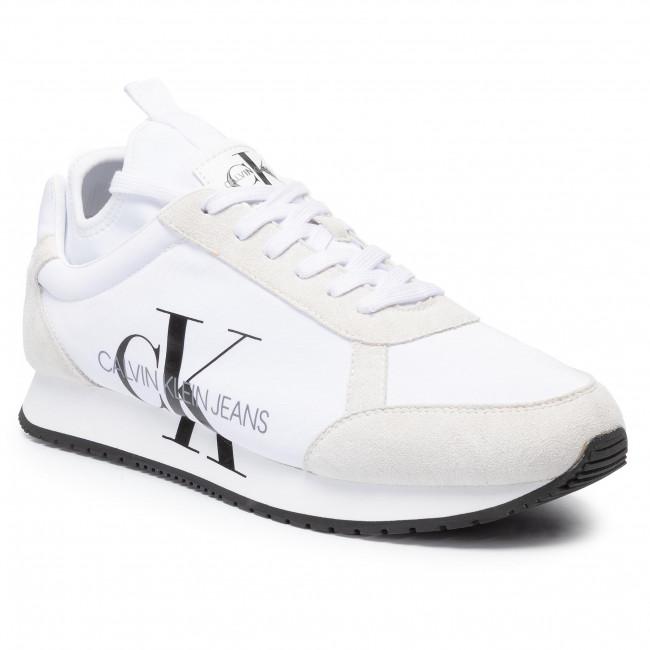 Sneakersy CALVIN KLEIN JEANS - Jemmy B4S0136 White