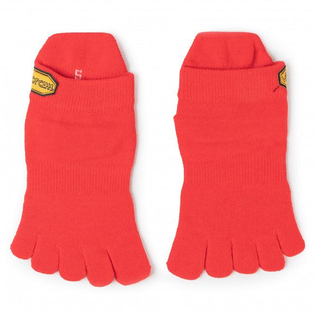 Ponožky Kotníkové Unisex VIBRAM FIVEFINGERS - Athletic No Show S18N04 Red