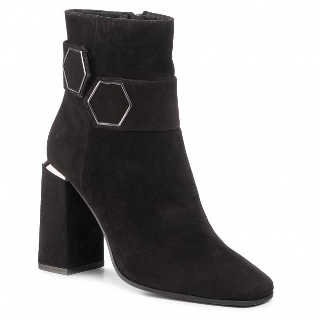 Členková obuv BRUNO PREMI - Camoscio BY2501G  Nero