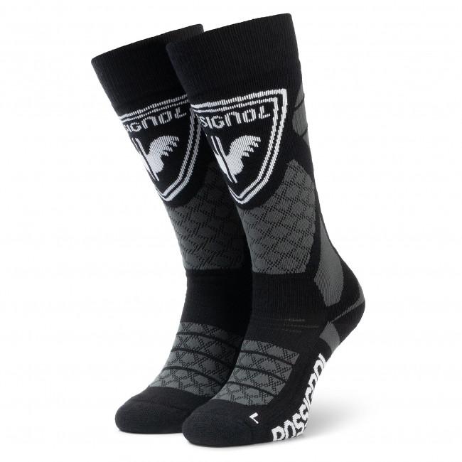 Ponožky Vysoké Unisex ROSSIGNOL - L3 Wool & Silk RLIMX03 Black 200
