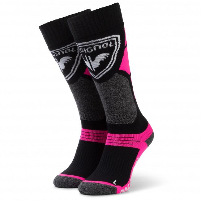 Ponožky Vysoké Detské ROSSIGNOL - L3 Jr Premium Wool RLIYX01 Fluo Pink 366