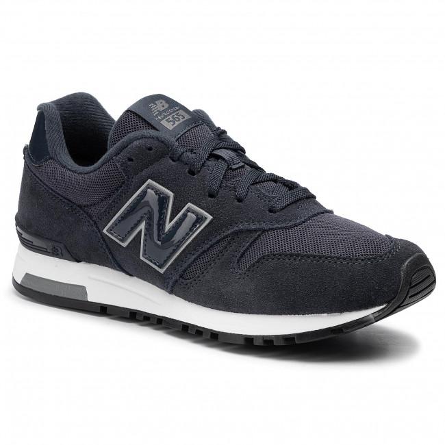 Sneakersy NEW BALANCE - WL565AD Tmavo modrá