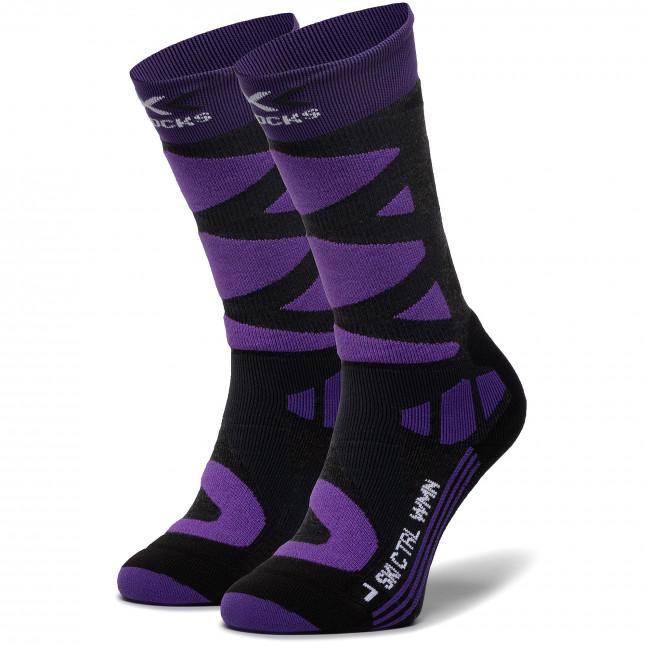 Ponožky Vysoké Dámske X-SOCKS - Ski Control 4.0 XSSSKCW19W G079
