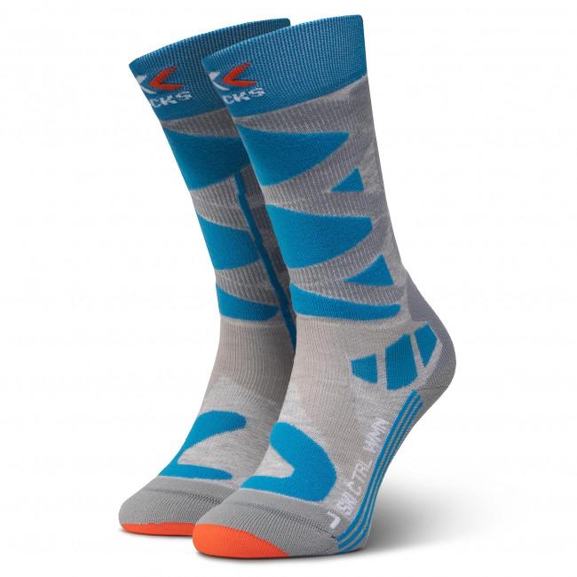 Ponožky Vysoké Dámske X-SOCKS - Ski Control 4.0 XSSSKCW19W  G160