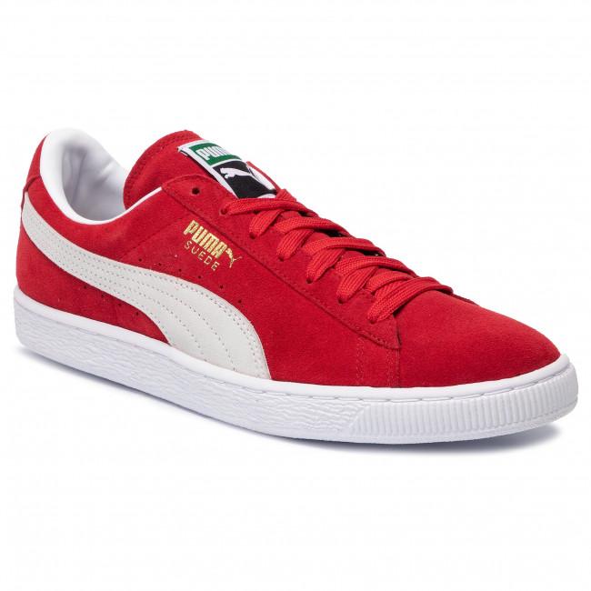 Sneakersy PUMA - Suede Classic+ 352634 65 High Risk Red/White