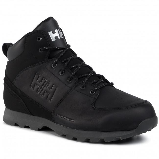 Trekingová obuv HELLY HANSEN - Tsuga 114-54.991 Jet Black/Charcoal/Jet Black Gum
