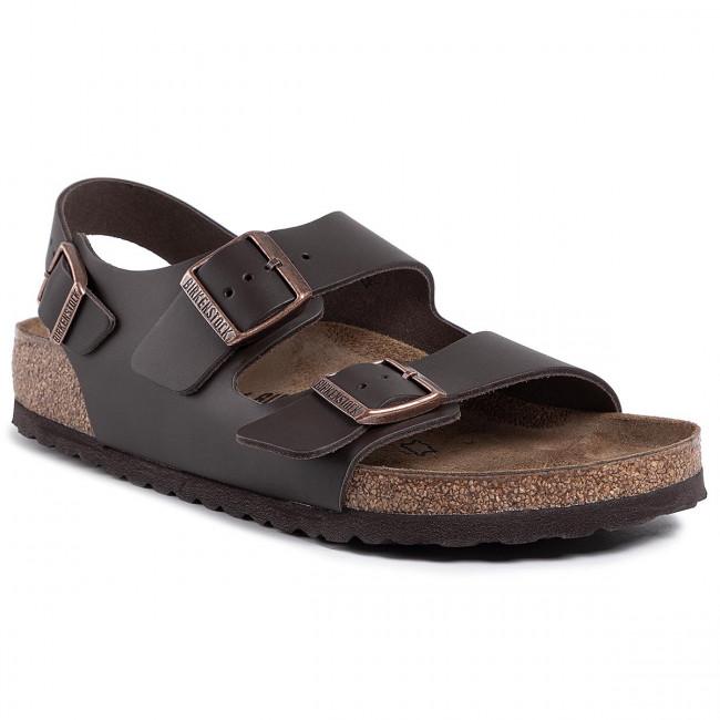 Sandále BIRKENSTOCK - Milano Bs 0034101 Dark Brown