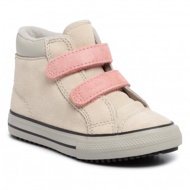 Outdoorová obuv CONVERSE - Ctas 2V Pc Boot Hi 765166C Natural Ivory/Coastal Pink