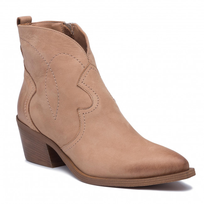 Členková obuv R.POLAŃSKI - 1024 Camel Nubuk