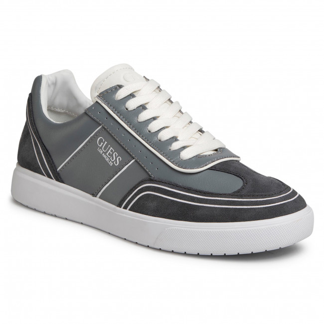 Sneakersy GUESS - Mercurio FM6NET LEA12 GREY