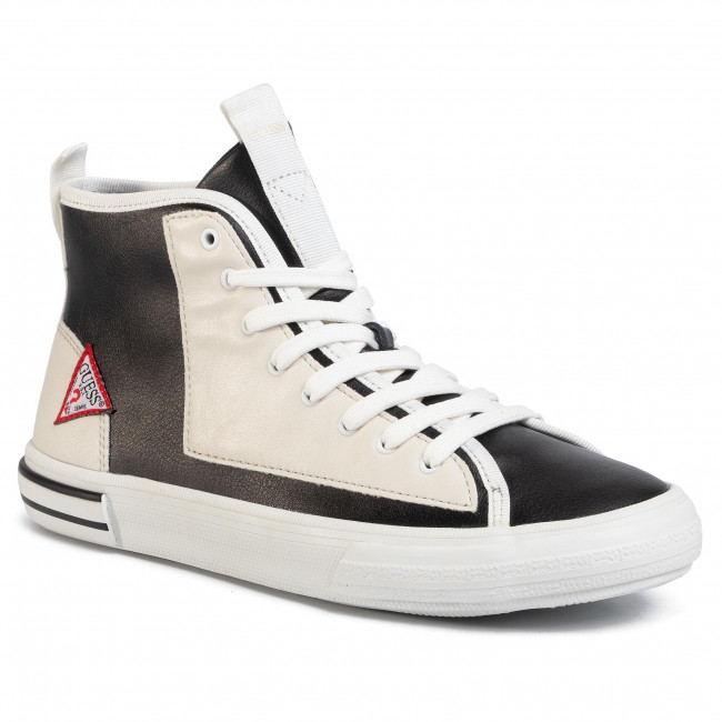 Sneakersy GUESS - Nettuno Hi FM6NTH LEA12 BLKWH