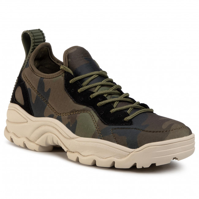 Sneakersy KENDALL + KYLIE - Dre Olive Camo