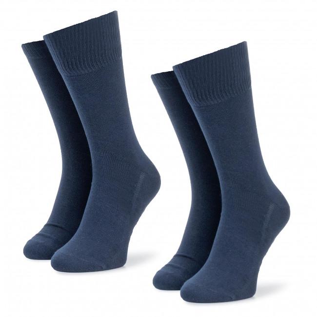 Súprava 2 párov vysokých ponožiek pánskych LEVI'S - 963016001 Navy 321