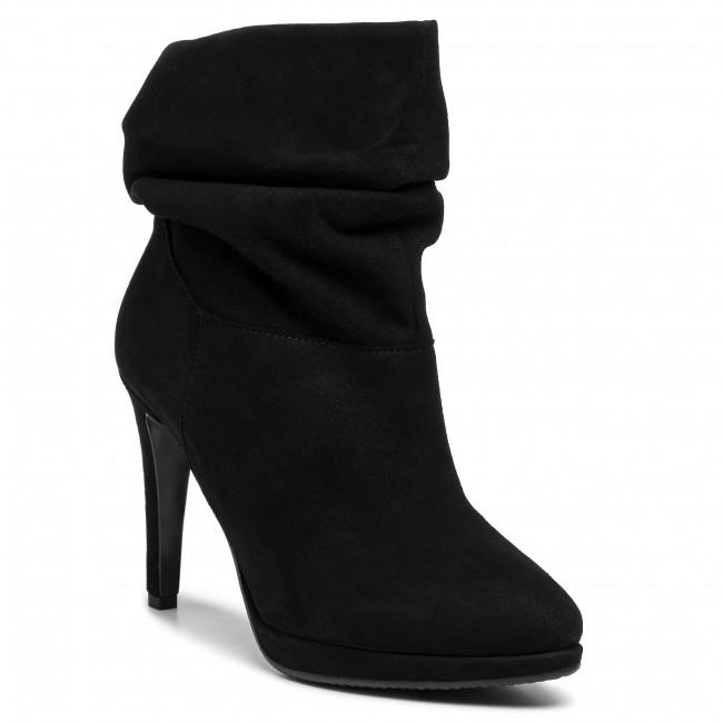 Členková obuv WOJAS - 9532-61 Čierna