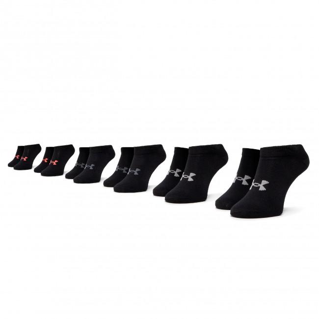 Súprava 6 párov kotníkových ponožiek dámskych UNDER ARMOUR - Essential No Show 1332981 Essential 001
