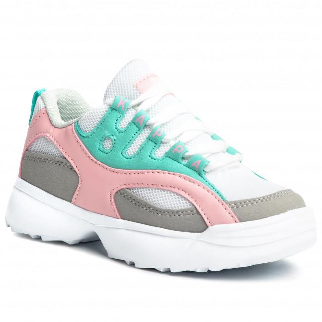 Sneakersy KAPPA - Overton K 260789K White/Mint 1037