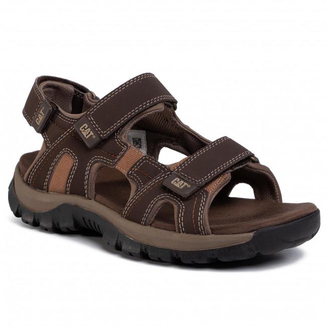 Sandále CATERPILLAR - Giles P716654 Dark Brown