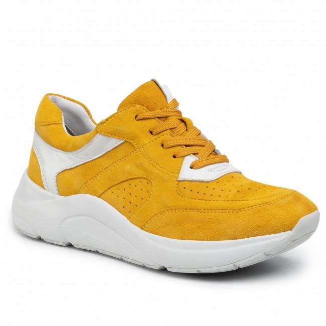 Sneakersy CAPRICE - 9-23501-24 Yellow/White 616