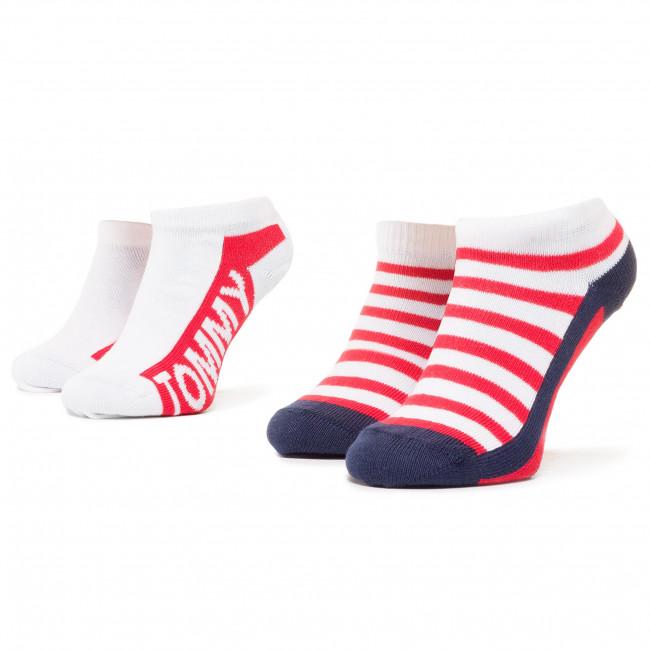 Súprava 2 párov kotníkových ponožiek unisex TOMMY HILFIGER - 320409001 Tommy Original 085