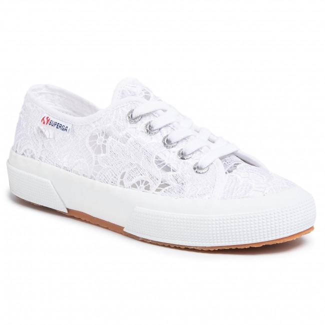 Tenisky SUPERGA - 2750 Macramew S008YA0 White 900