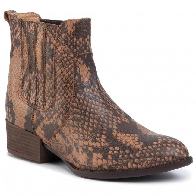 Kotníková obuv s elastickým prvkom EKSBUT - 69-5726-M83-1G Rudy