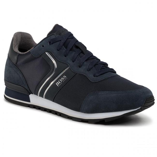 Sneakersy BOSS - Parkour 50433661 10214574 01 Dark Blue 402