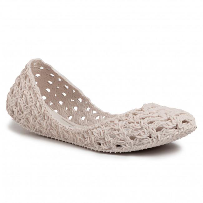 Baleríny MELISSA - Campana Crochet  Ad 32246  White 01177