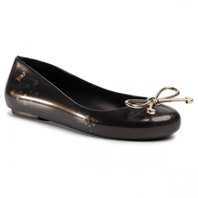 Baleríny MELISSA - Sweet Love Ad 32848 Black/Gold 50919