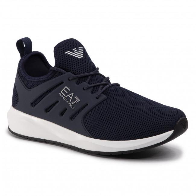 Sneakersy EA7 EMPORIO ARMANI - X8X052 XCC57 00285 Navy